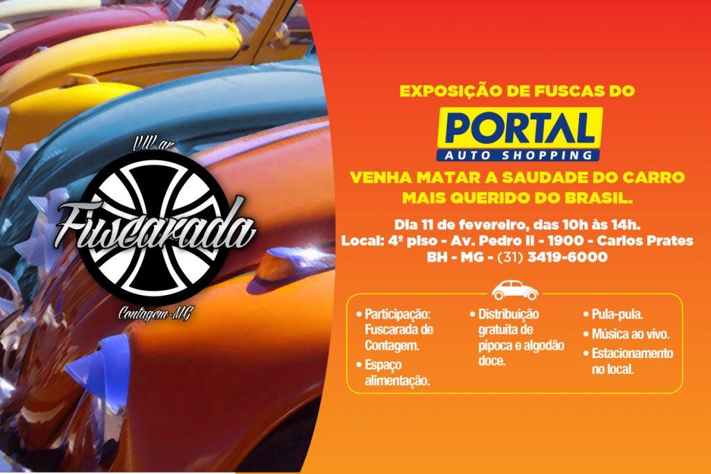 Exposição de Fuscas do Portal Auto Shopping