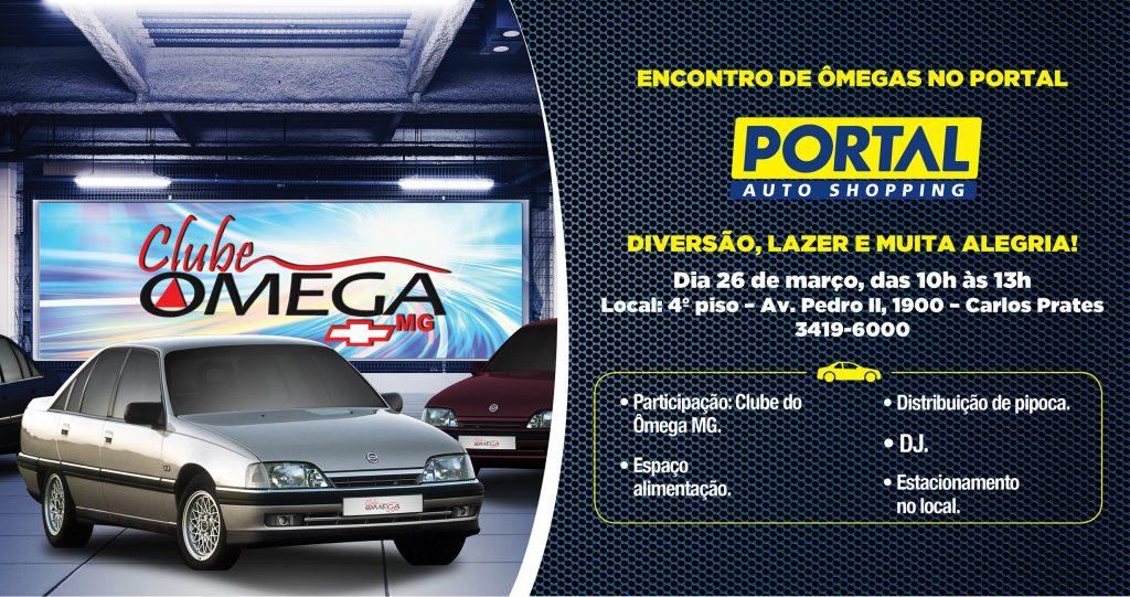 Encontro de carros - Ômegas no Portal Auto Shopping