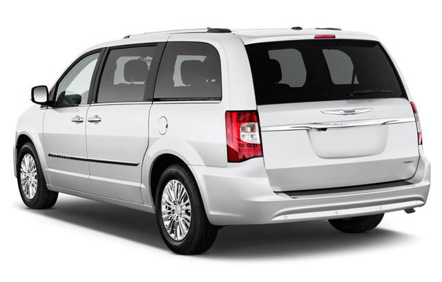 Chrysler Town & Country - carro para quem tem crianças