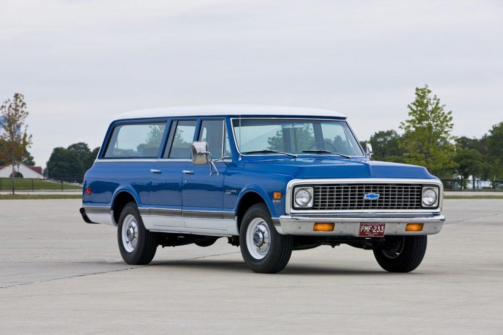 Chevrolet Suburban - Origem das SUV